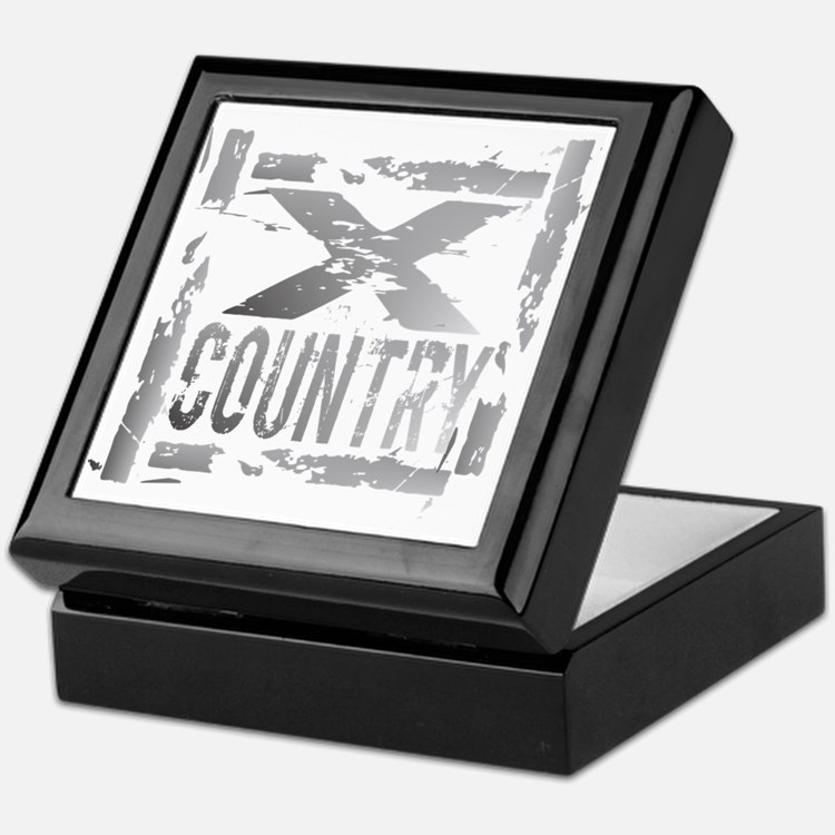 Cross Country Grunge Keepsake Box