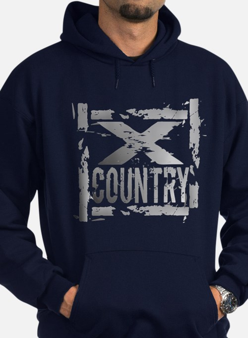 Cross Country Grunge Hoodie