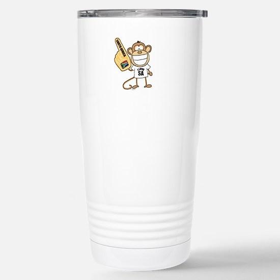 South Africa Monkey Stainless Steel Travel Mug