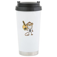 South Africa Monkey Travel Mug
