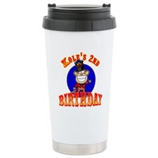 Kole's 2nd Birthday II Thermos Mug