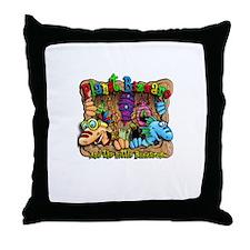 Little Bazzaros Throw Pillow