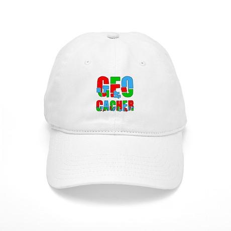 Patchwork Geocacher Cap