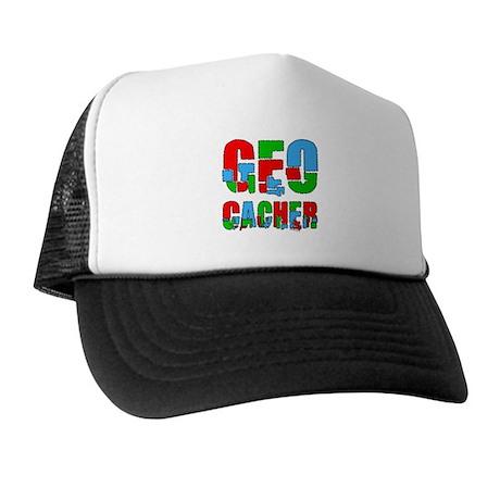 Patchwork Geocacher Trucker Hat
