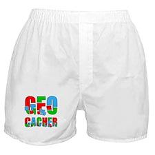 Patchwork Geocacher Boxer Shorts