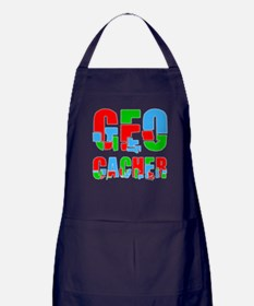 Patchwork Geocacher Apron (dark)