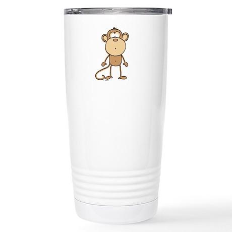 Oooh Monkey Stainless Steel Travel Mug