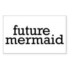 Future Mermaid Decal