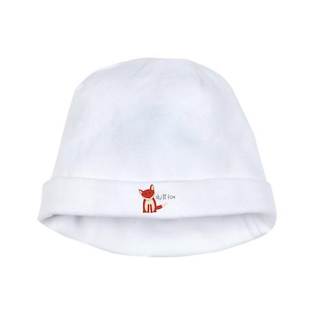 Sly Lil' Fox baby hat