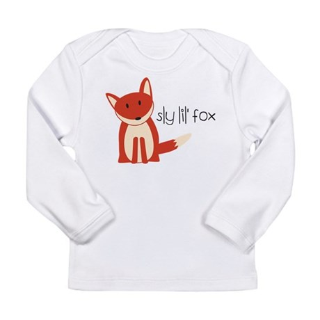 Sly Lil' Fox Long Sleeve Infant T-Shirt