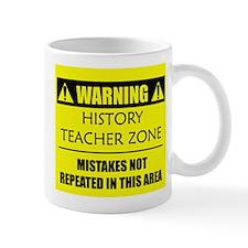 WARNING: History Teacher Mug