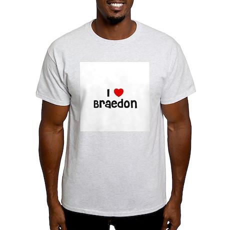 I * Braedon Ash Grey T-Shirt