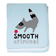 Smooth Criminal Raccoon baby blanket