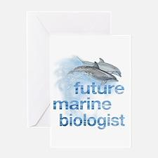 future Marine Biologist Greeting Card