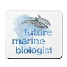 future Marine Biologist Mousepad