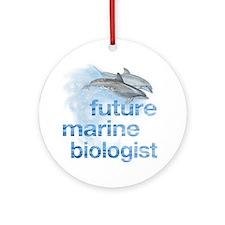 future Marine Biologist Ornament (Round)