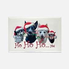 Ho Ho Ho Rectangle Magnet