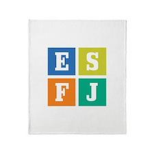 Myers-Briggs ESFJ Throw Blanket