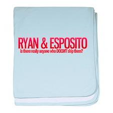 Cool Ryan castle baby blanket