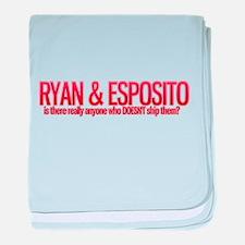Ryan castle baby blanket
