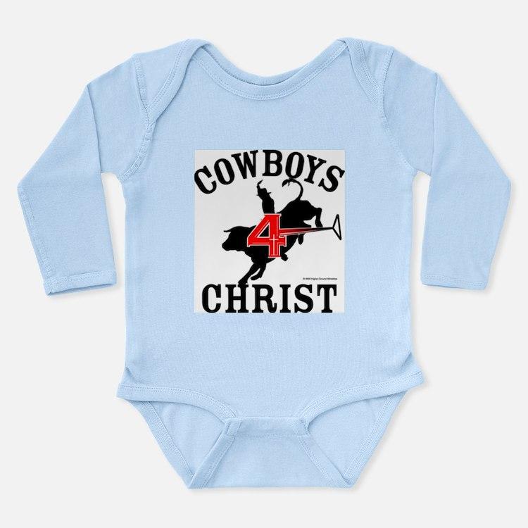 C4C Bull Rider Long Sleeve Infant Bodysuit