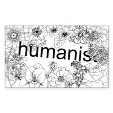 Humanist Bumper Decal