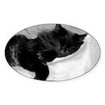 Lazy Day Sticker (Oval 10 pk)