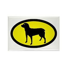 Entlebucher Sennenhund Rectangle Magnet