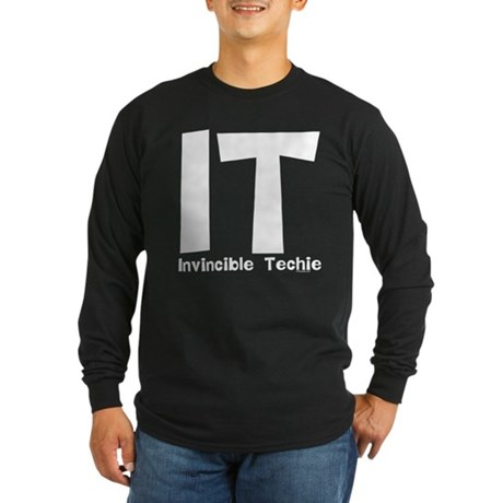 Invincible Techie Long Sleeve Dark T-Shirt