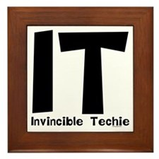 Invincible Techie Framed Tile