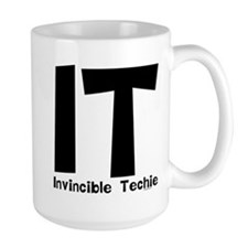 Invincible Techie Ceramic Mugs