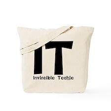 Invincible Techie Tote Bag