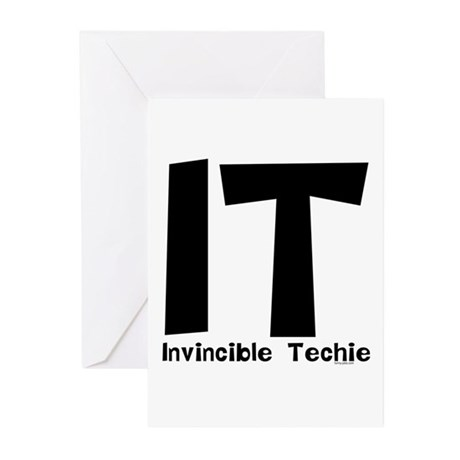 Invincible Techie Greeting Cards (Pk of 20)