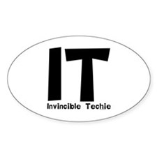 Invincible Techie Decal