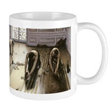The Parquet Planers by Gustave Courbet Mugs