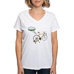 Winter Dreaming Women's V-Neck T-Shirt