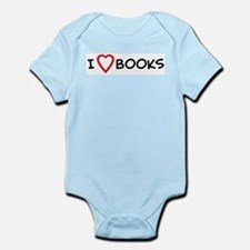 I Love Books Infant Creeper