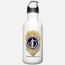 Backing the Blue Badge Water Bottle