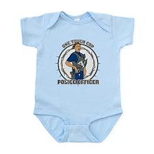 One Tough Female Cop Infant Bodysuit