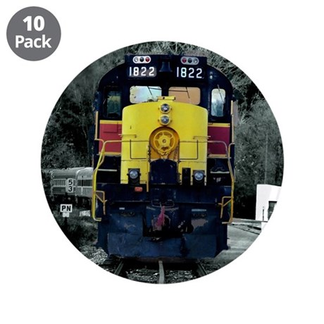 """Caboose 3.5"""" Button (10 pack)"""