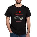 I love recumbents dark t-shirt