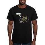 Winter Dreaming Men's Fitted T-Shirt (dark)