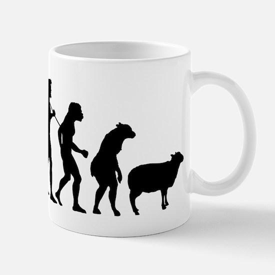 Evolution of Sheeple Mug