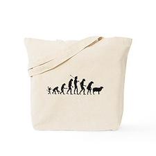 Evolution of Sheeple Tote Bag