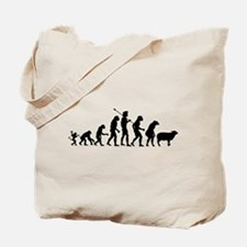 Evolution of Sheeple Tote Bag