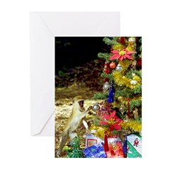 Christmas Animals Greeting Cards (Pk of 10)