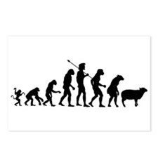 Evolution of Sheeple Postcards (Package of 8)