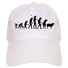 Evolution of Sheeple Baseball Cap