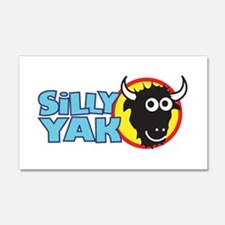Silly Yak Shirt Co. 20x12 Wall Peel