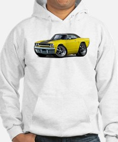 1970 Roadrunner Yellow-Black Car Hoodie